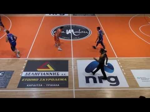 Οι καλύτερες στιγμές του αγώνα ΑΣ Καρδίτσας-ΑΟ Αγρινίου για την Β΄ Εθνική Ανδρών