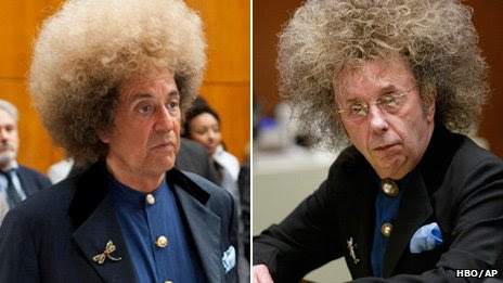 Al Pacino as Phil Spector and Phil Spector