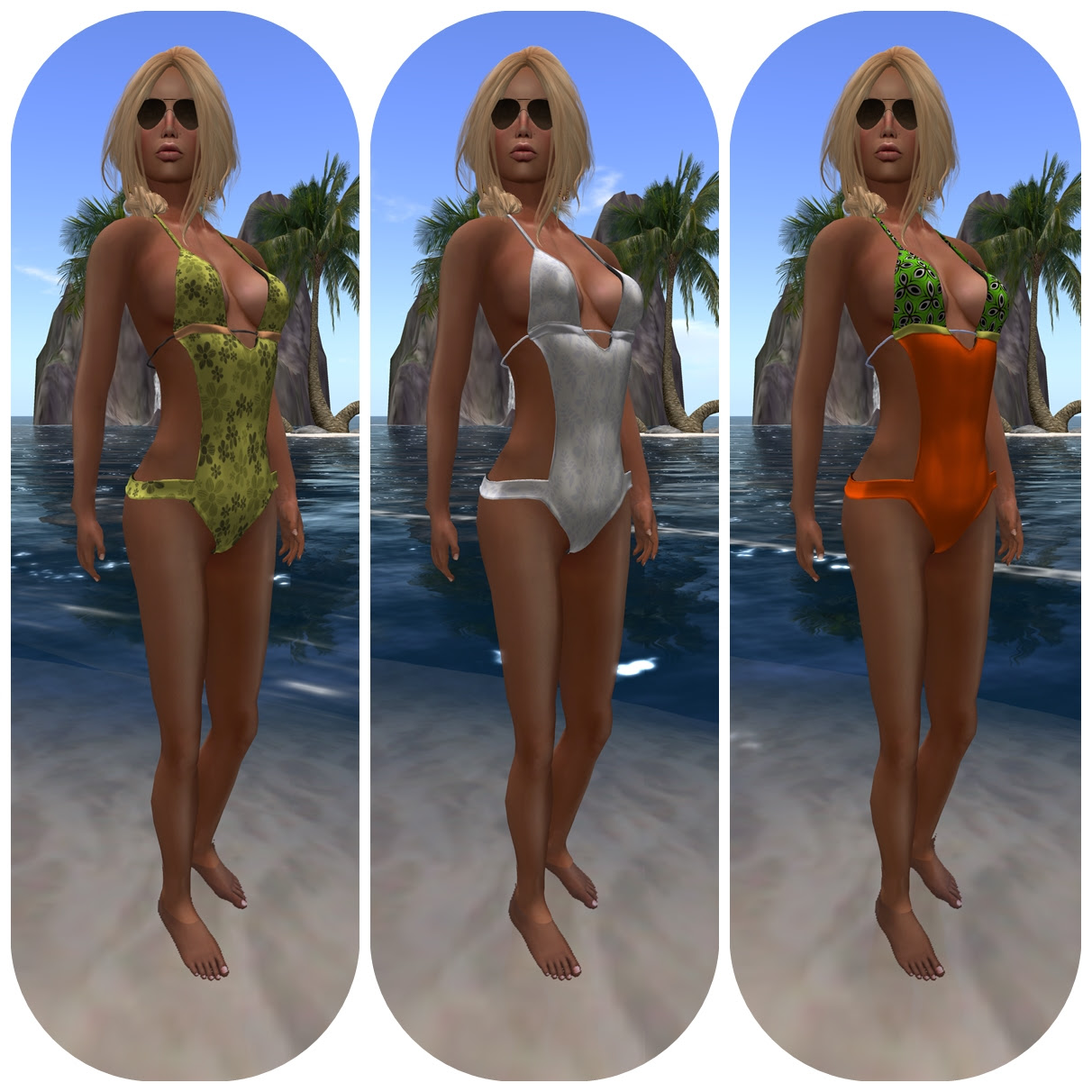 {EPIC}Monokini - Set Feat Vooza