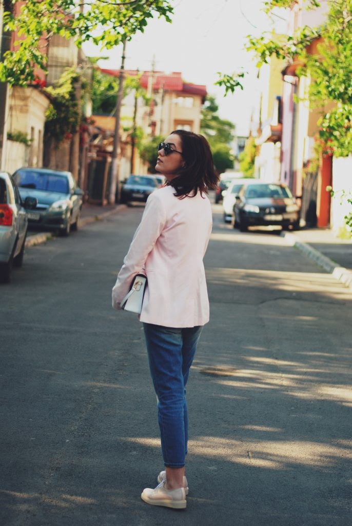 the pink blazer outfit • couturezilla