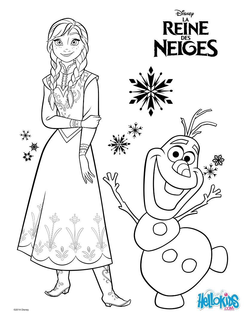 Elsa Coloring Pages Hellokids Com