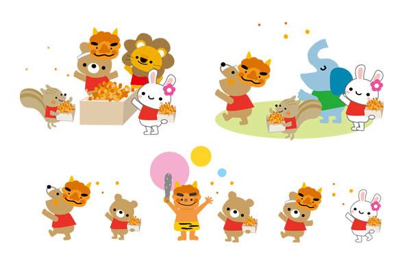 画像 動物イラスト素材集まとめ Naver まとめ