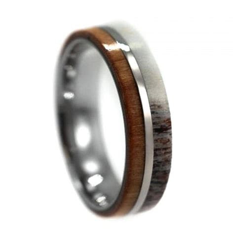 15 Inspirations of Mens Wedding Bands With Deer Antlers