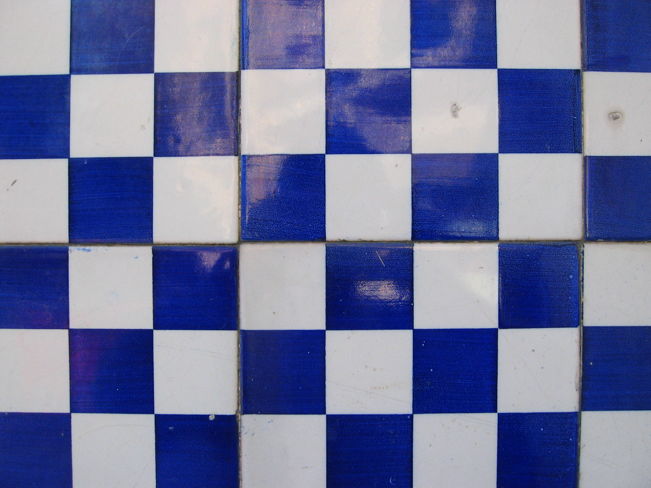 Blue and White Tile