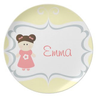 Sweet Girl - Personalized Plate plate