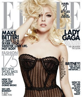 Lady Gaga Biography Elle Magazine by Victoria´s Secret Fashion Show
