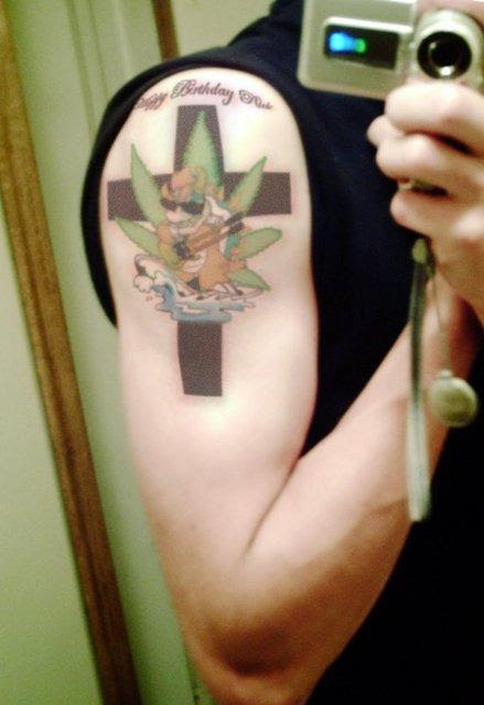 tattoo if he ever realizes how moronic