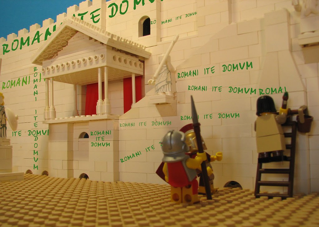 Romani Ite Domum Life Of Brian Ive Tried To Recreate