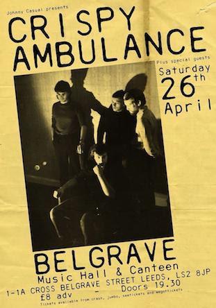 Crispy Ambulance live @ Belgrave, Leeds