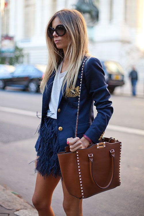 #feather #skirts #streetstyle