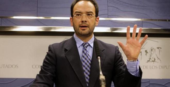 El hasta ahora portavoz del PSOE en el Congreso de los Diputados, Antonio Hernando, en una imagen de archivo. EFE