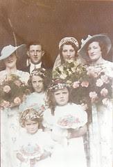 Wedding of Dorothy Lilian Butcher to Richard May1936
