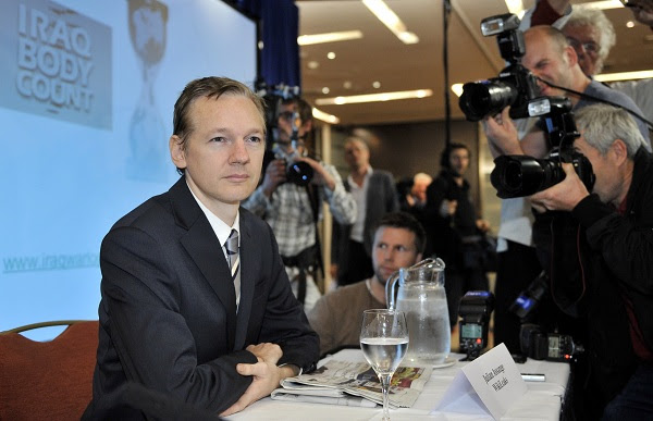Times reporter defends Assange piece