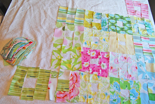 Nicey Jane for FQ quilt along