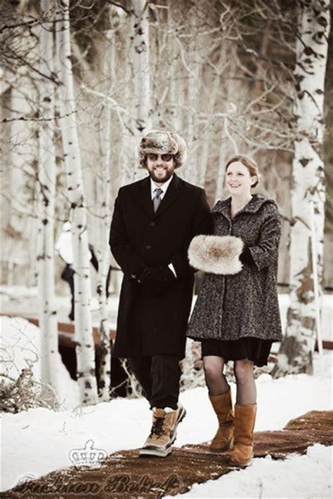 winter wedding accessories fashion belief
