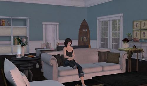 The Paesano House (Living Area 1)