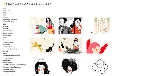 My Updated website by la casa a pois