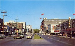 Portage Avenue Postcards 60's