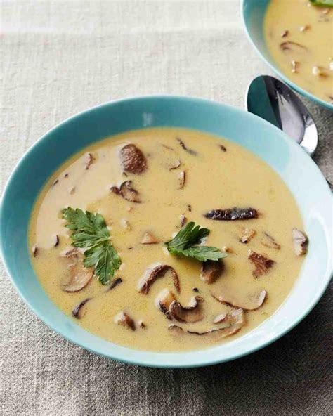 french mushroom soup recipe video martha stewart