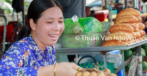 Vietnam || Phong Dien Village Market || Can Tho City