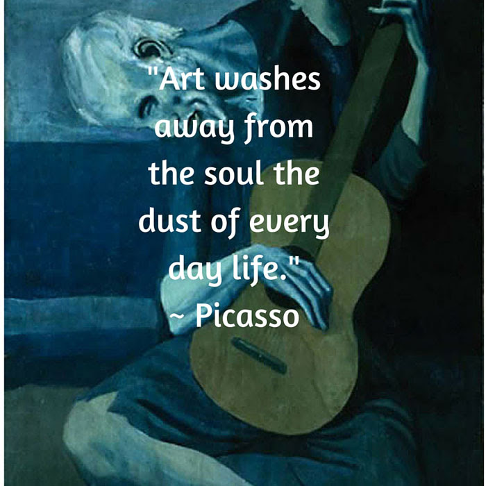 Art And Quotes By Famous Artists