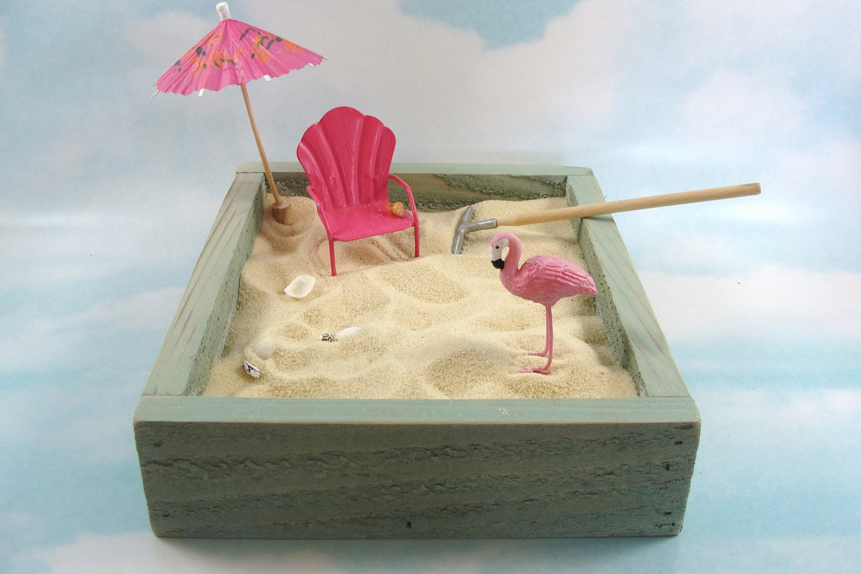 plaj-minyatür-zen