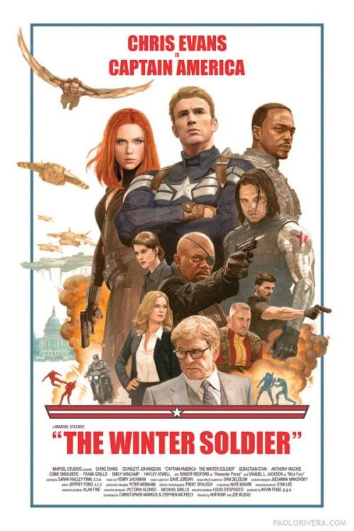 Captain America: The Winter Soldier, click the poster to see the larger version and other posters