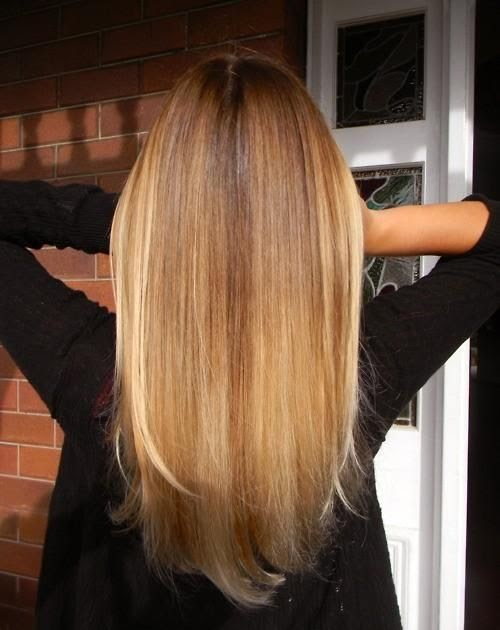 cool straight hair styles shoulder length straight