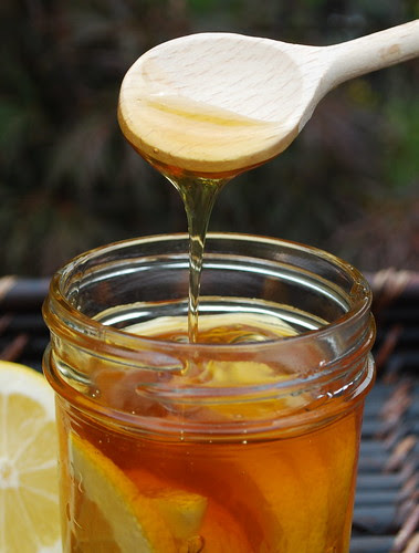 Lemon Honey Remedy spoon