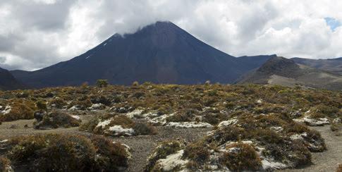 Mt Ngauruhoe, Tongariro National Park, New Zealand