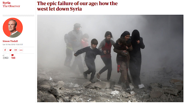 Media Erase US Role in Syria's Misery, Call for US to Inflict More Misery