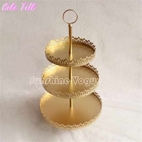 Aliexpress.com : Buy 3 tiers gold cupcake stand display