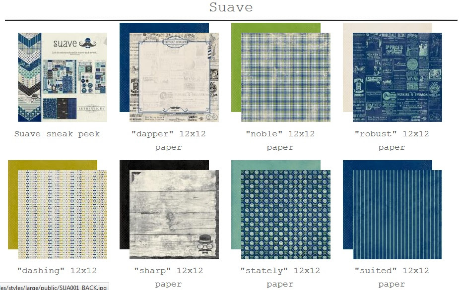 """Selections from the """"Suave"""" Collection"""