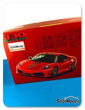 Maqueta de coche 1/24 Fujimi - Ferrari 430 Scuderia - maqueta de plástico + fotograbados