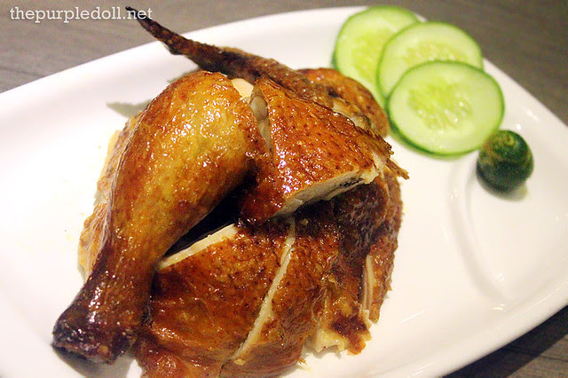 Crispy Roast Chicken (Whole P755; Half P425; Quarter P235)
