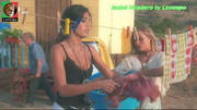 Isabel Valadeiro sensual na novela A herdeira