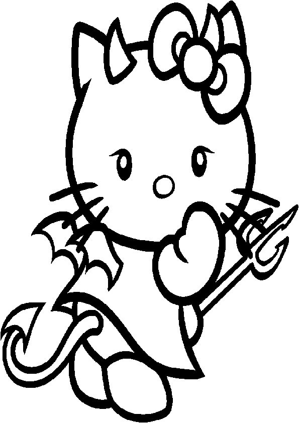 ausmalbilder hello kitty meerjungfrau  malvorlagen