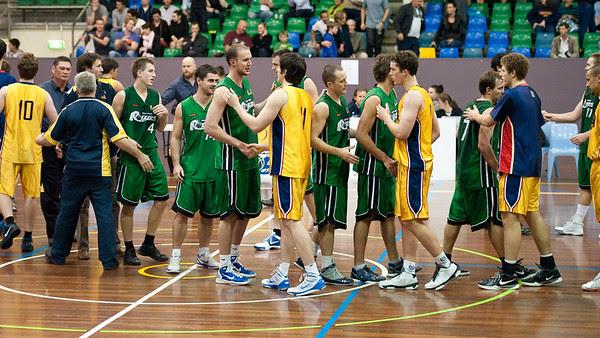 Peter Alexander - QBL Quarter Final Basketball: Gold Coast Rollers v Brisbane Capitals; Carrara, Gold Coast, Queensland, Australia. Photos by Des Thureson:  http://disci.smugmug.com.