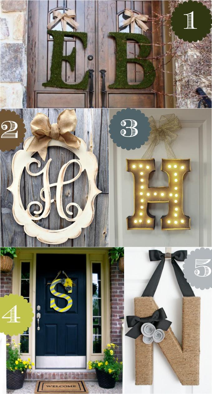 36 Creative Front Door Decor Ideas