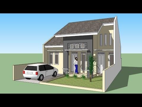 download desain rumah minimalis sketchup 2016