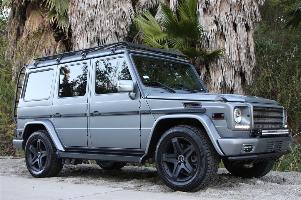 Icon 4x4 Mercedes G55 | Celebrity Cars Blog