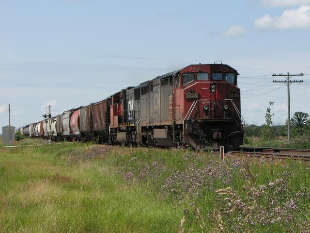 CN 2449 in Winnipeg