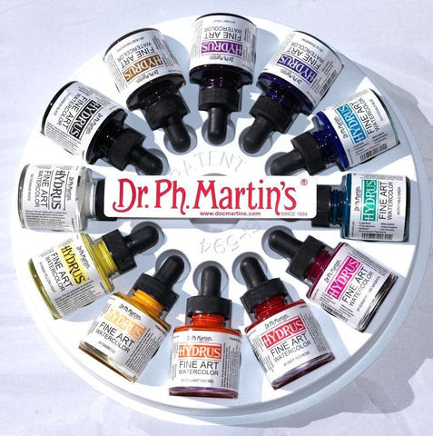 Hydrus Fine Art Liquid Watercolor Sets (1oz 30ml)