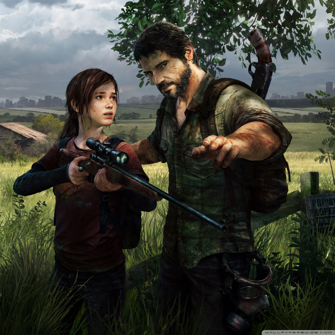 The Last Of Us Video Game Ps3 Ultra Hd Desktop Background