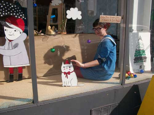Little Otsu window display