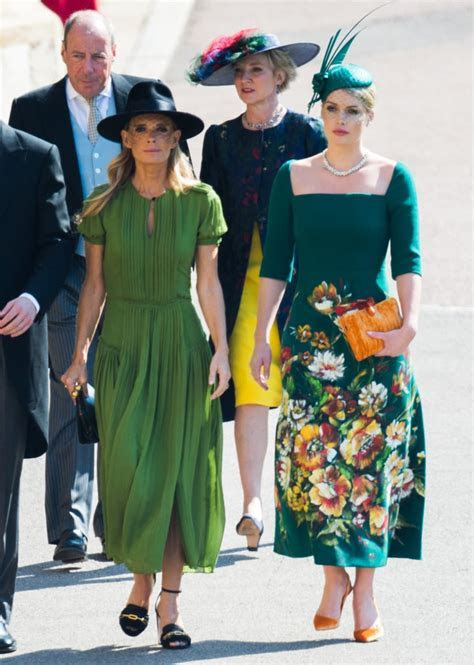 When she attended Prince Harry and Meghan Markle's wedding