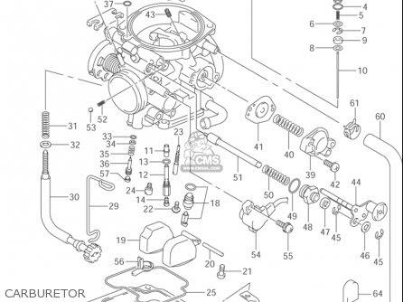 Suzuki Ltz 400 Carburetor Diagram - General Wiring Diagram