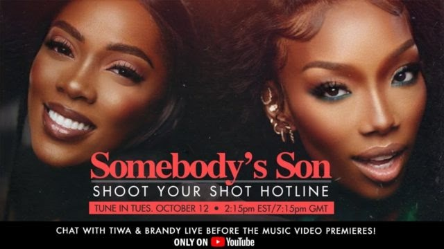 Tiwa Savage and Brandy Host 'Shoot Your Shot' Hotline with Fans | WATCH