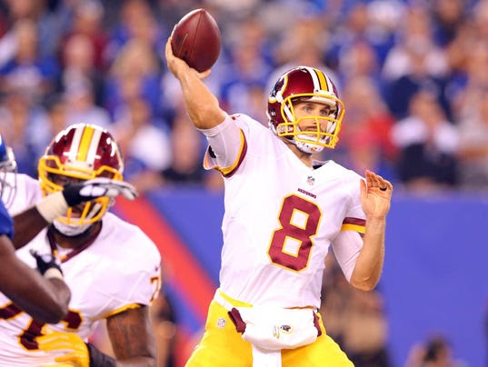 USP NFL: WASHINGTON REDSKINS AT NEW YORK GIANTS S FBN USA NJ