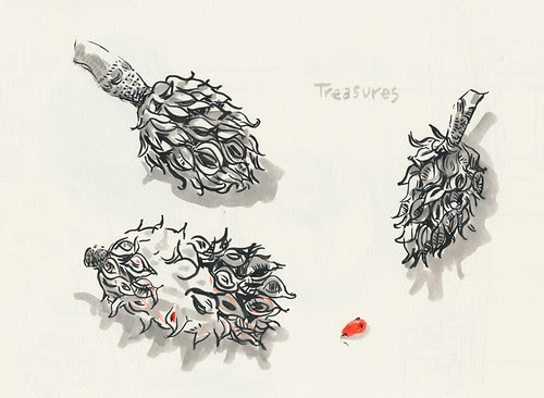 November 2013: Treasures by apple-pine